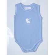 Detské tielkové body Hippo modré
