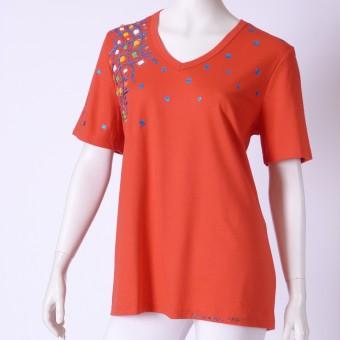 Ručne maľované tričko (52)