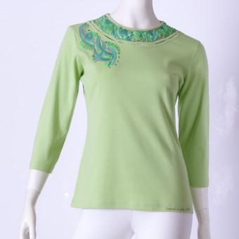 Ručne maľované tričko (42)